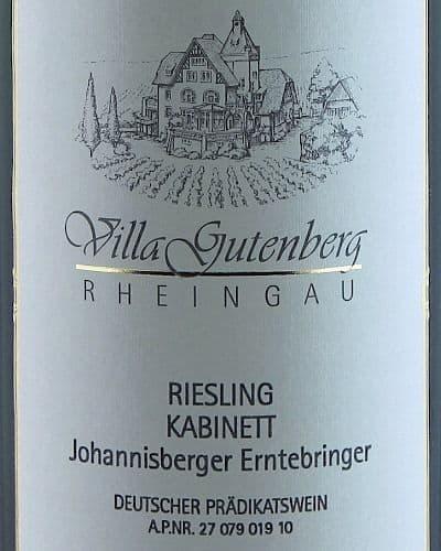 Johannisberger Erntebringer Riesling Kabinett