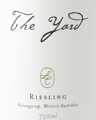 Larry Cherubino The Yard Riesling, Riversdale Vineyard