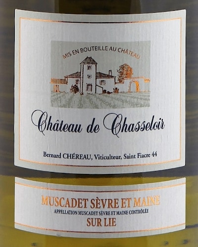 Muscadet de Sèvre et Maine sur Lie, Château de Chasseloir