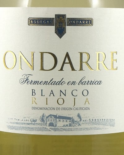 Ondarre Blanco Barrique Fermented