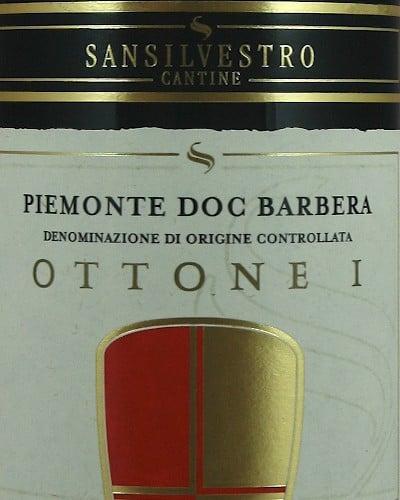 Ottone I' Barbera del Piemonte DOC, San Silvestro
