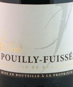 Pouilly Fuissé, Domaine Ferrand