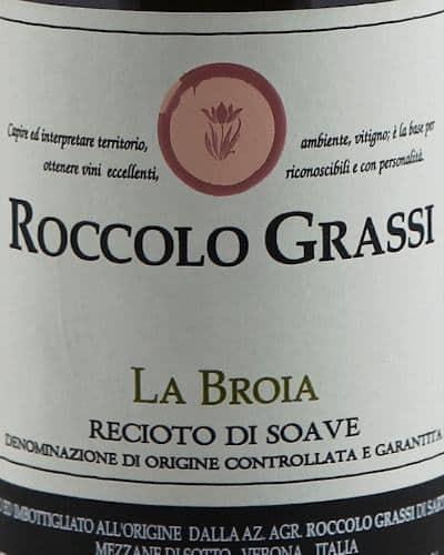Recioto di Soave DOCG 'La Broia', Grassi (37.5 cl)