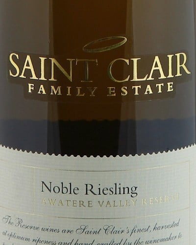 Saint Clair Awatere Valley Reserve Noble Riesling  (37.5 cl)