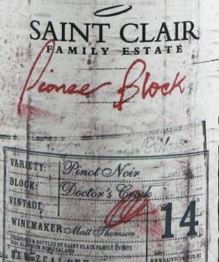 Saint Clair Block 14 'Doctor's Creek' Pinot Noir