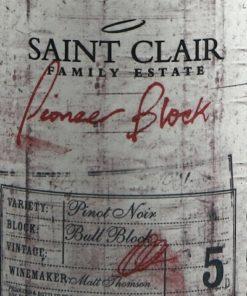 Saint Clair Bull Block 5 Pinot Noir
