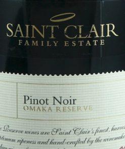 Saint Clair Omaka Reserve Pinot Noir