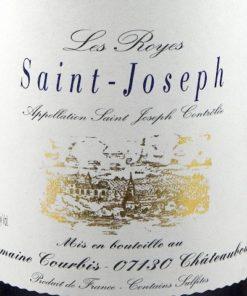 Saint Joseph 'Les Royes', Domaine Courbis