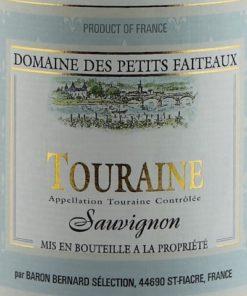Sauvignon de Touraine, Domaine les Petits Faiteaux