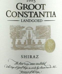 Shiraz, Groot Constantia