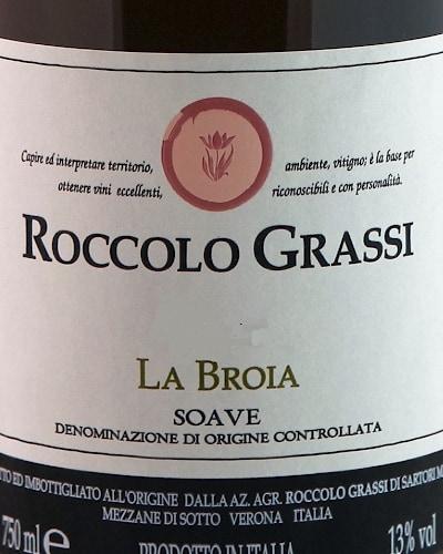 Soave DOC, Grassi