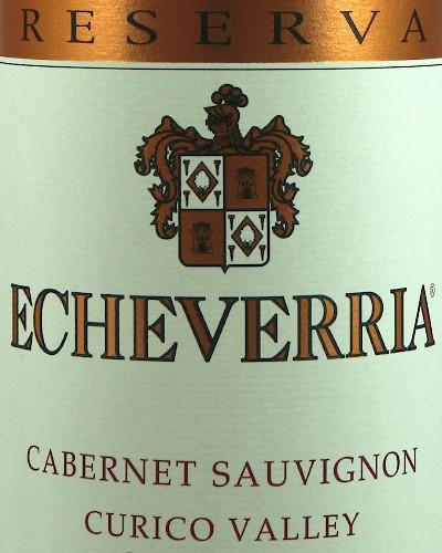 Viña Echeverria Cabernet Sauvignon Reserva