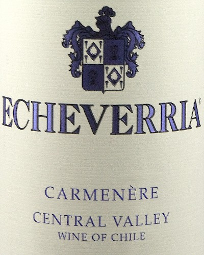 Viña Echeverria Carmenère