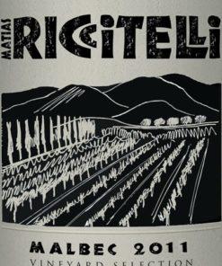 Vineyard Selection Malbec, Matias Riccitelli