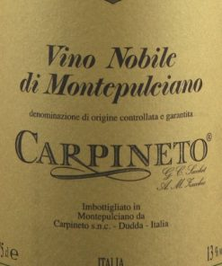 Vino Nobile di Montepulciano Riserva DOCG, Carpineto
