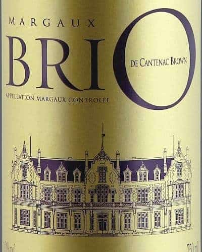 Brio de Cantenac Brown 2013, Margaux